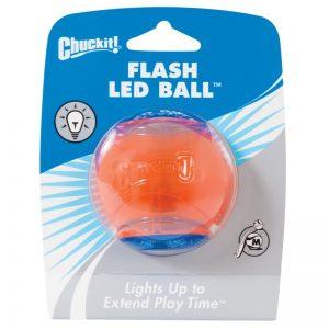 Chuckit! Flash LED šviečiantis kamuoliukas