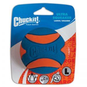Chuckit! Squeaker ball kamuoliukas