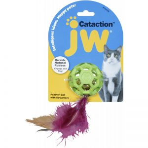 JW FEATHER BALL KAMUOLYS SU VARPELIU