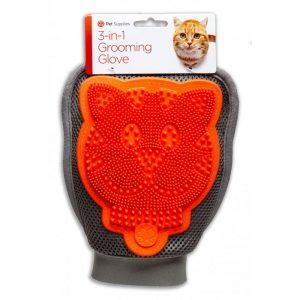 GROOMING GLOVE šukavimo pirštinė katėms