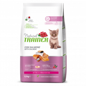 TRAINER NATURAL CAT KITTEN SALMON SU LAŠIŠA
