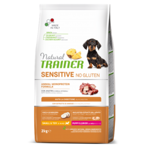 Trainer Sensitive PUPPY Mini No Gluten DUCK jauniems (Antiena)