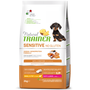 Trainer Sensitive PUPPY Mini No Gluten SALMON jauniems (Lašiša) 2kg
