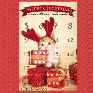Naturcota Kalėdinis Advento Kalendorius Katėms