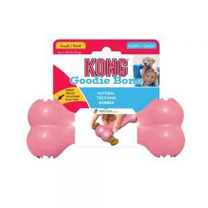 KONG Goodie Bone Puppy guminis kaulas šuniukams
