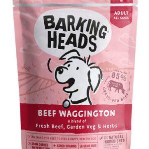 BARKING HEADS konservai Beef Waggington 300g