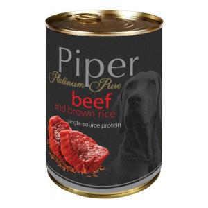 Piper konservai su jautiena ir rudaisiais ryžiais