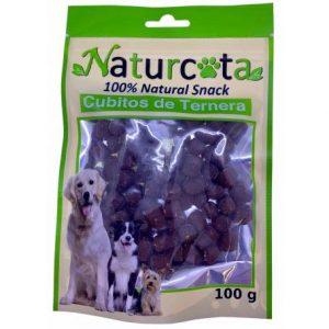 Naturcota Jautienos kubeliai, 100g