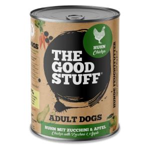 THE GOOD STUFF konservai šunims su vištiena ir cukinijomis