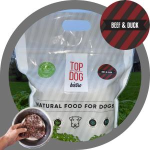 Top Dog Bistro More Beef & Duck paplotėliai