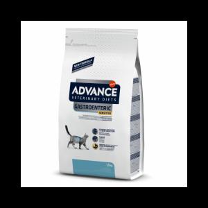 """ADVANCE VETERINARY DIETS """"Gastroenteric Sensitive"""" kačių maistas turinčioms virškinimo problemų"""