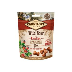 Carni love Dog skanėstas Wild Boar with Rosehips