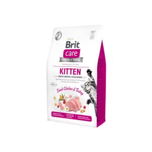 Brit Care Cat GF Kitten Healthy Growth&Development