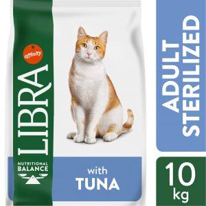 LIBRA CAT STERILIZED Pašaras Katėms Su Tunu 10kg