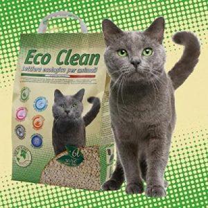 Eco Clean biologiškai skaidomas kraikas 6L