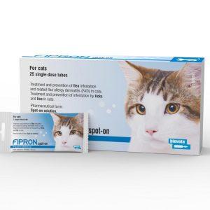 FIPRON 50 mg užlašinamasis tirpalas katėms